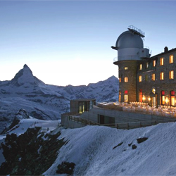Gornergrat and his unique view of the Matterhorn