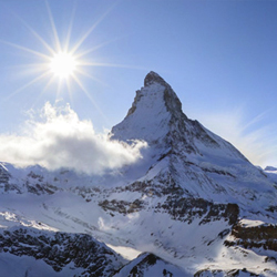 The Matterhorn, the king of mountains